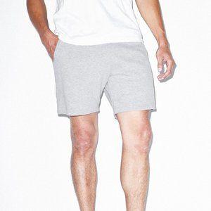 American Apparel Unisex Fleece Gym Shorts